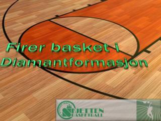 Firer basket  i Diamantformasjon