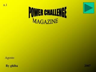 POWER CHALLENGE