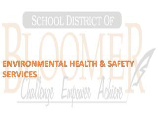 ENVIRONMENTAL HEALTH & SAFETY  SERVICES