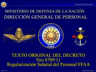 DIRECCION GENERAL DE PERSONAL