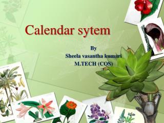 Calendar  sytem