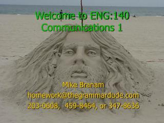 Welcome to ENG:140 Communications 1