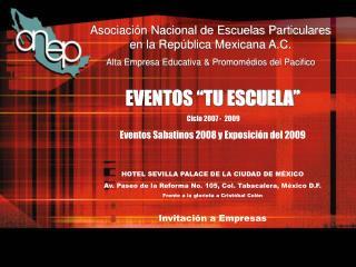 Asociación Nacional de Escuelas Particulares en la República Mexicana A.C.