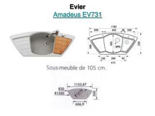 Evier Amadeus EV731