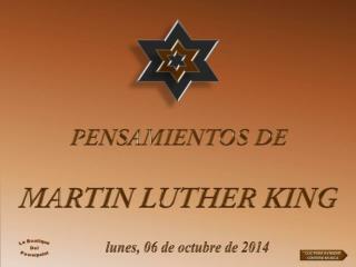 lunes, 06 de octubre de 2014
