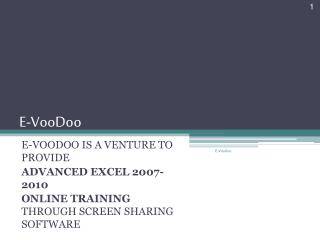 E-VooDoo