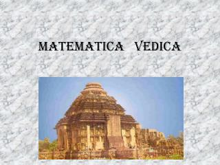 Matematica   Vedica
