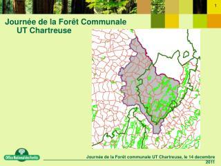 Journée de la Forêt Communale UT Chartreuse