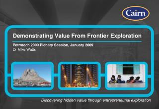 Demonstrating Value From Frontier Exploration