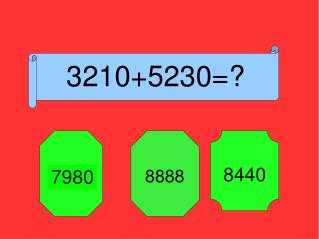3210+5230=?