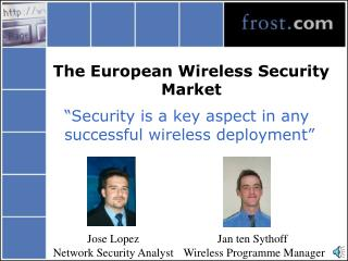 The European Wireless Security Market