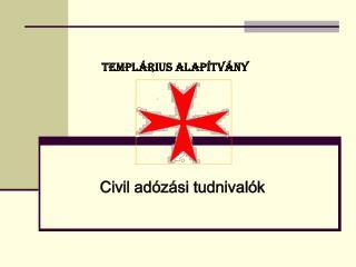TEMPLÁRIUS ALAPÍTVÁNY
