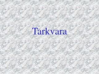 Tarkvara
