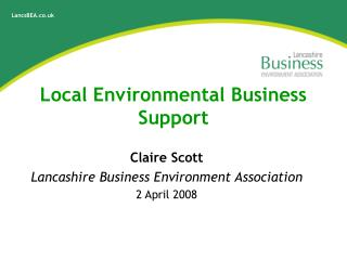 Local Environmental Business Support