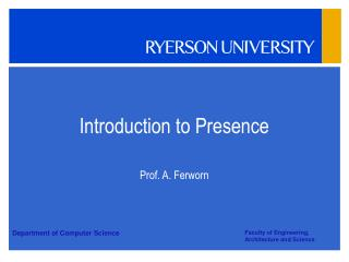 Introduction to Presence