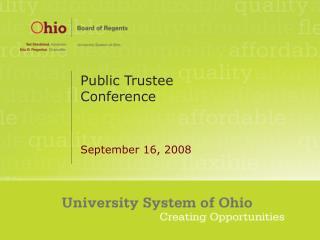 Public Trustee Conference