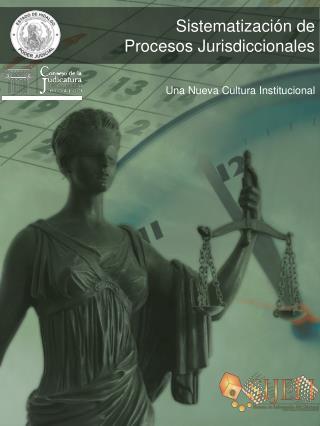 Sistematización de  Procesos Jurisdiccionales