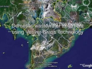 Domestic wastewater treatment using Vetiver Grass Technology