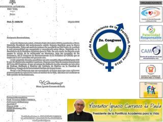 2° Congreso Internacional de Reconocimiento  de la Fertilidad Humana Monterrey 2010