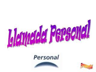Llamada Personal
