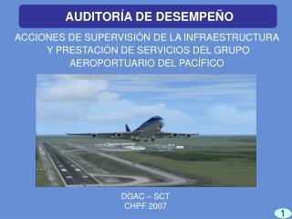 ACCIONES DE SUPERVISIÓN DE LA INFRAESTRUCTURA