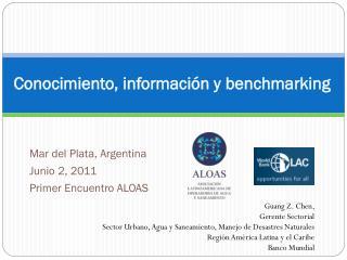 Conocimiento, información y benchmarking
