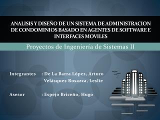 Proyectos de Ingeniería de Sistemas II