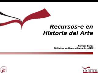 Recursos-e en Historia del Arte