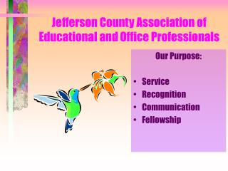 Jefferson County Association of Educational and Office Professionals