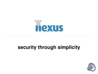 security through simplicity