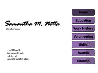 Samantha M. Nitta