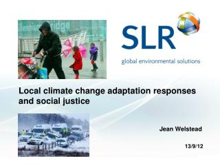 Local climate change adaptation responses and social justice
