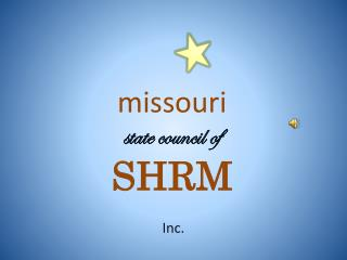 missouri state council of SHRM