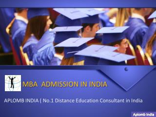 Aplomb India- Distance, Online, Regular MBA Admission in Ind