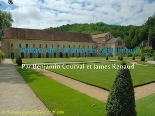 Abbaye de Fontenay et Aigue morte