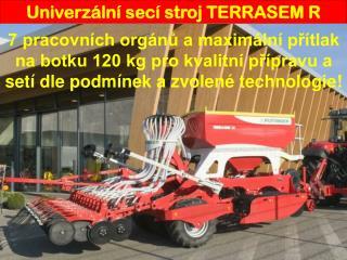 Univerzální secí stroj TERRASEM R