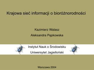 Krajowa sieć informacji o bioróżnorodności