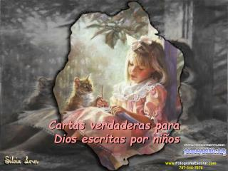 Cartas verdaderas para   Dios escritas por niños