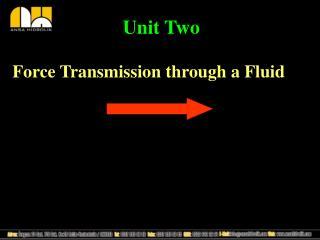 Force Transmission through a Fluid