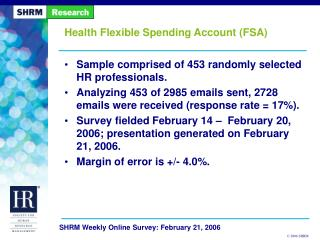 Health Flexible Spending Account FSA
