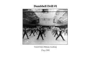 Dumbbell Drill 1