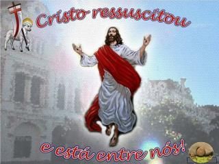 A Aurora radiante do domingo de Páscoa  é a imagem de Cristo Triunfante