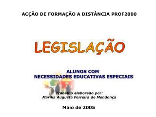 ACÇÃO DE FORMAÇÃO A DISTÂNCIA PROF2000