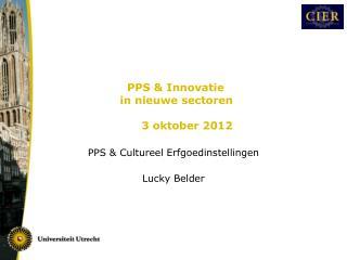 PPS & Cultureel Erfgoedinstellingen Lucky Belder