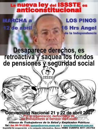 Desaparece derechos, es retroactiva y saquea los fondos de pensiones y seguridad social
