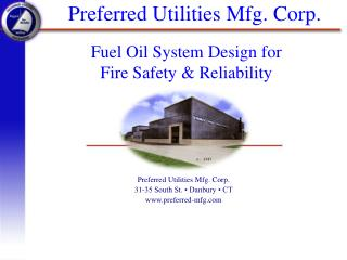 Preferred Utilities Mfg. Corp.