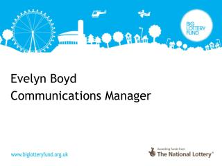 Evelyn Boyd Communications Manager