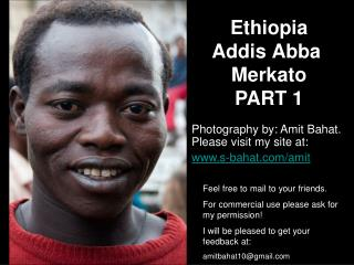 Ethiopia  Addis  Abba Merkato PART 1