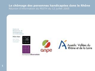 Le chômage des personnes handicapées dans le Rhône