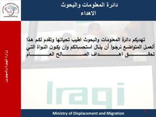 Ministry  of Displacement and Migration